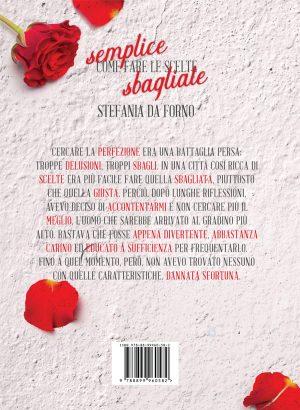 Copertina di Semplice come fare le scelte sbagliate di Stefania Da Forno per Delrai Edizioni