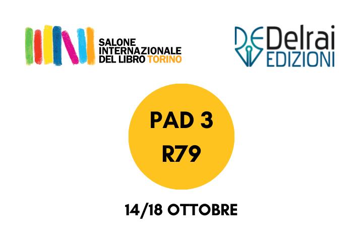 Salone Internazionale del Libro di Torino: la Delrai Edizioni vi aspetta